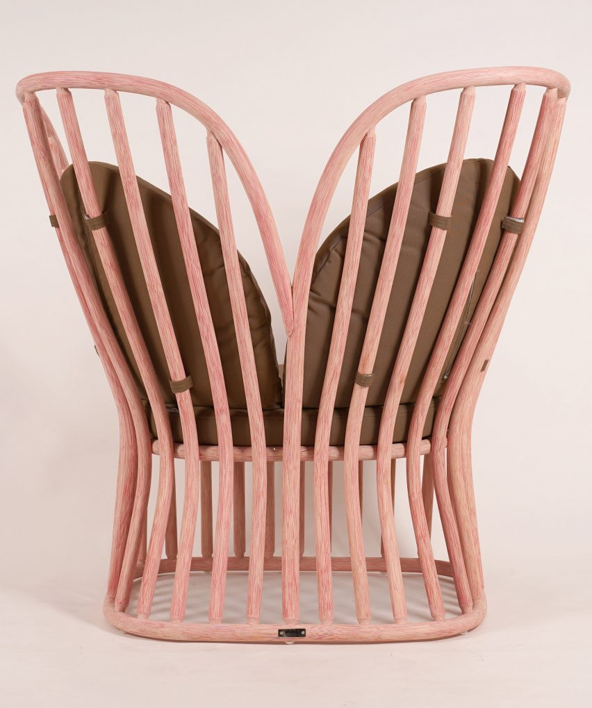 Tropicália Modernity rattan furniture by Alvin T at Milan design week