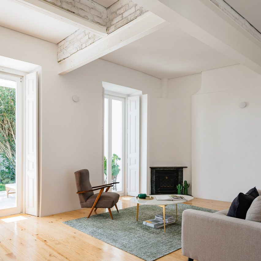 Filipe Fonseca da Costa keeps things simple in renovated Lisbon apartment