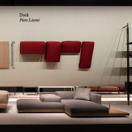 "B&B Italia's Dock modular sofa system is ""a platform for life"" says Piero Lissoni"