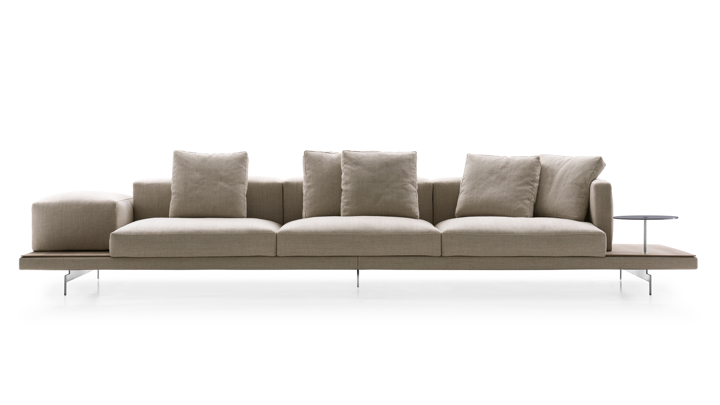 Cool Dock Sofa By Piero Lissoni For Bb Italia Is A Platform For Beutiful Home Inspiration Cosmmahrainfo