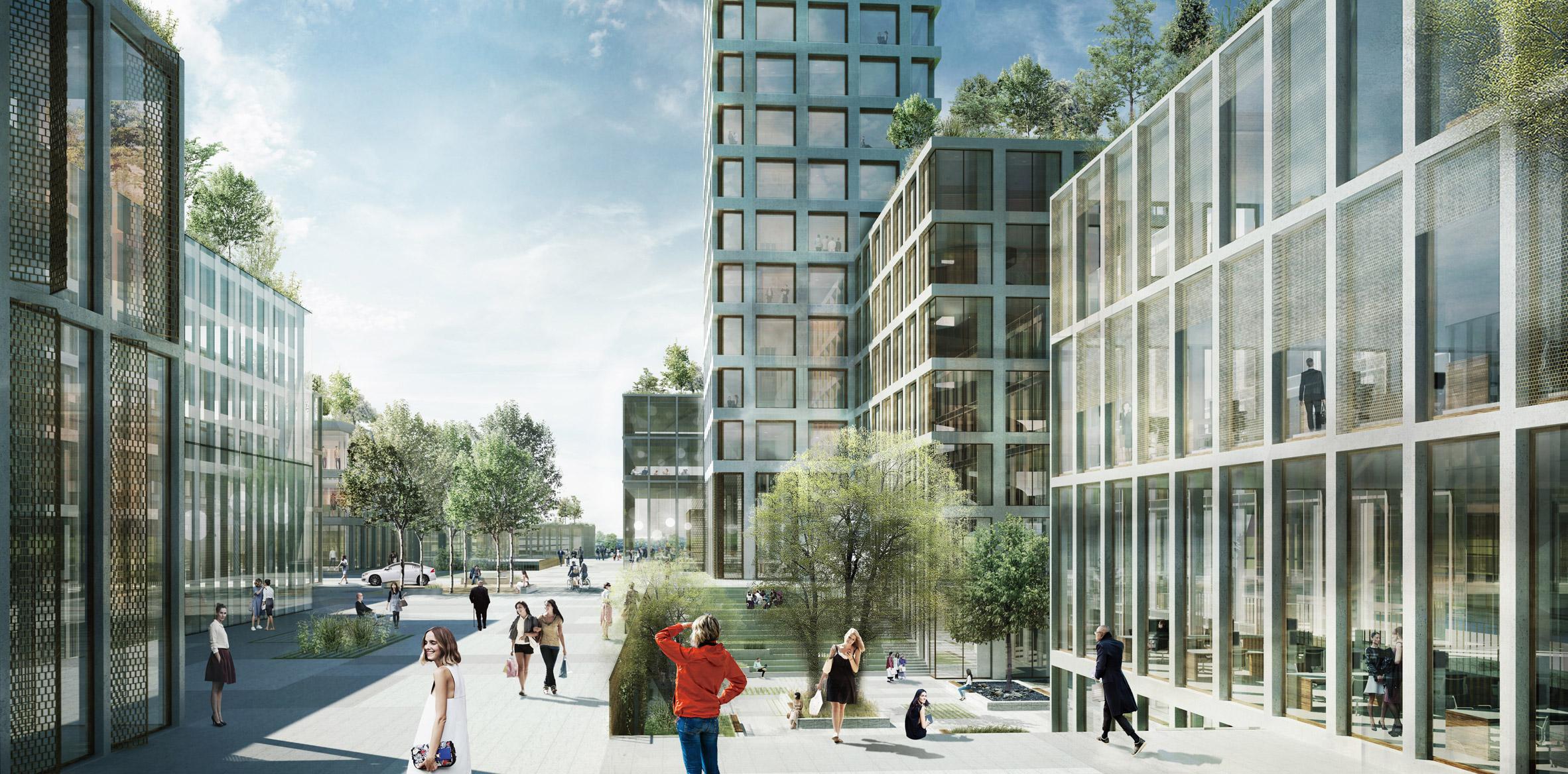 Dorte Mandrup designs Bestseller Tower, the tallest building in Western Europe