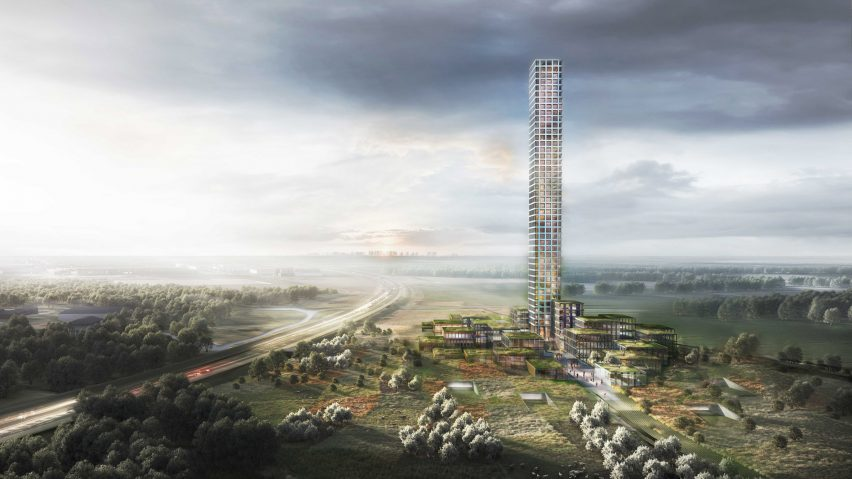 Dorte Mandrup designs Bestseller Tower, the tallest building in Western Europe