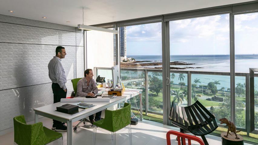 Bettis Tarazi Panama City architecture studio photographed by Marc Goodwin