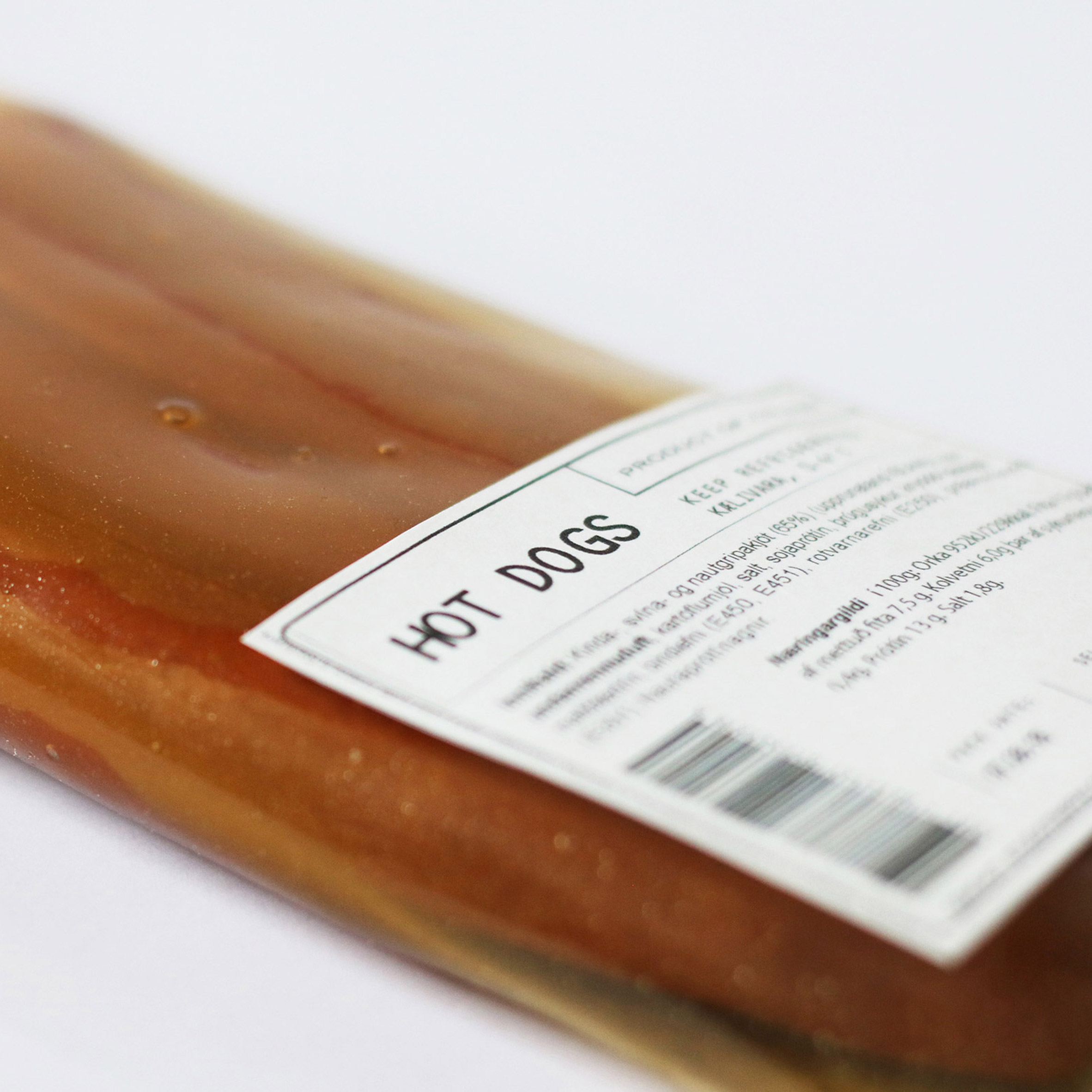 Image result for Icelandic design studio makes bioplastic meat packaging from animal byproducts
