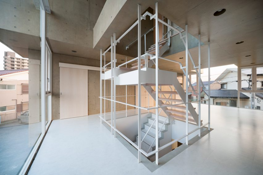Toru Kashihara Architects Design Stepped Concrete Temple In Tokyo
