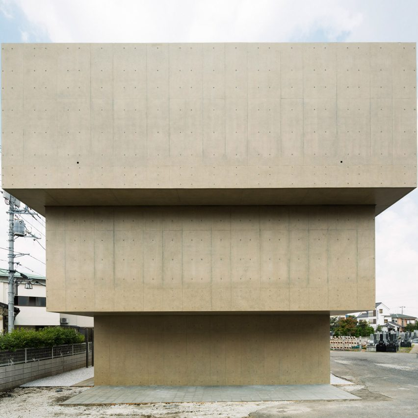 Buddhist Temple by Toru Kashihara in Tokyo, Japan