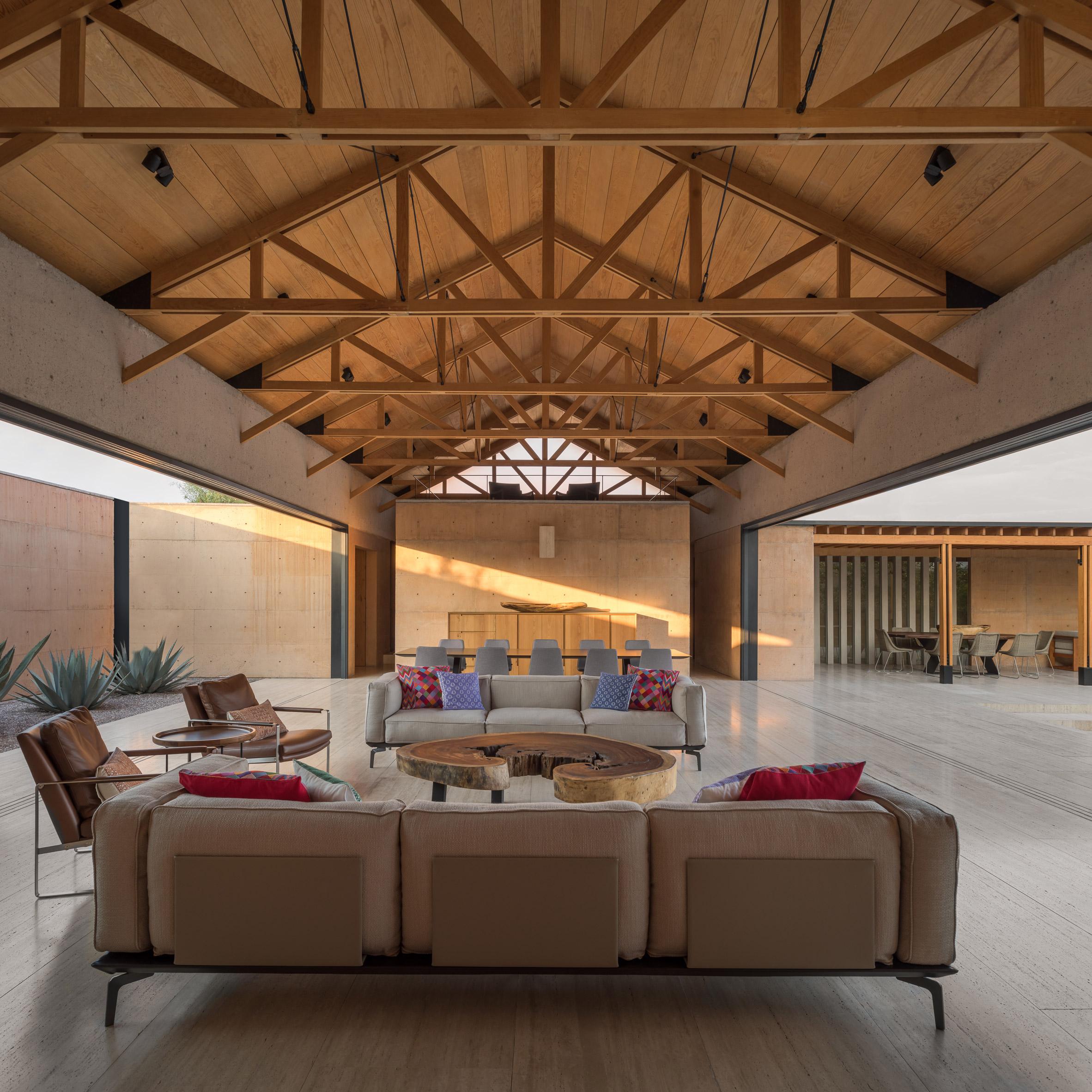 Casa Moulat residence in Hidalgo Mexico by Centro de Colaboracion Arquitectonica