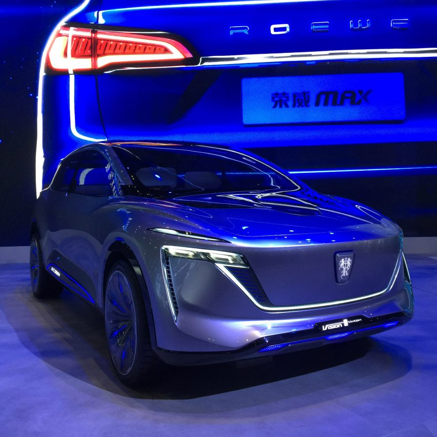 10 electric cars by Chinese car companies at Auto Shanghai 2019: Vision I concept by SAIC