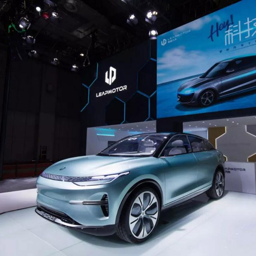 10 electric cars by Chinese car companies at Auto Shanghai 2019: C-More by Leapmotor