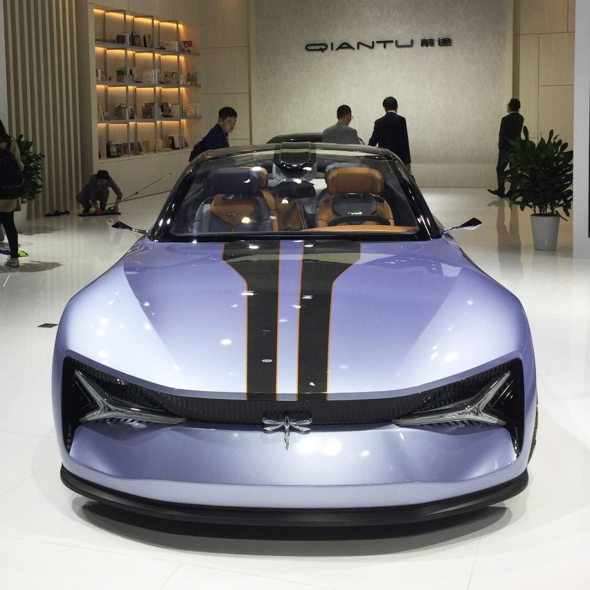 10 electric cars by Chinese car companies at Auto Shanghai 2019: Concept 1 by Qiantu Motor