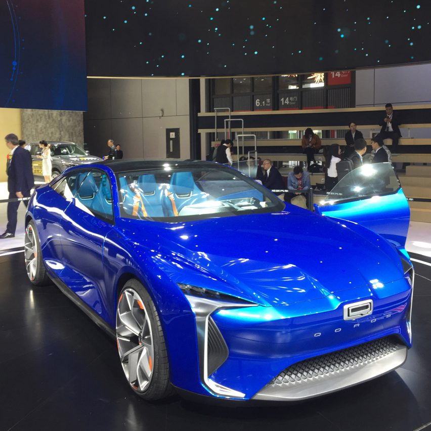 10 electric cars by Chinese car companies at Auto Shanghai 2019: Qoros Mile II Concept by Qoros