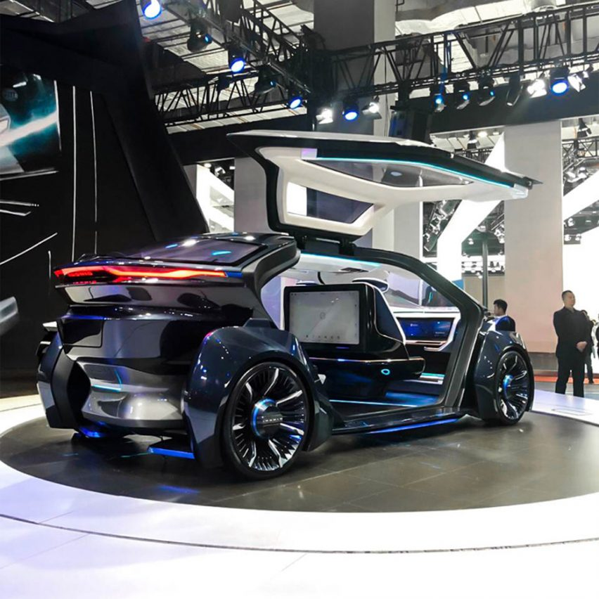 10 electric cars by Chinese car companies at Auto Shanghai 2019: MUSE by Iconiq Motors and W Motors