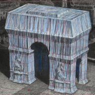 Christo to wrap silver fabric around the Arc de Triomphe in Paris