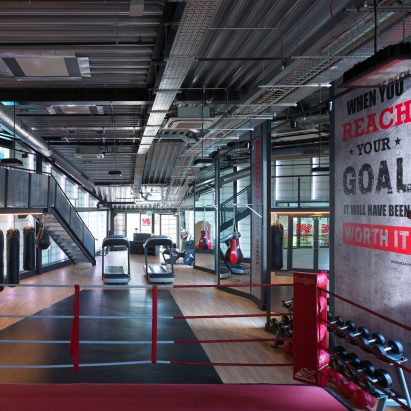 Gyms and fitness dezeen