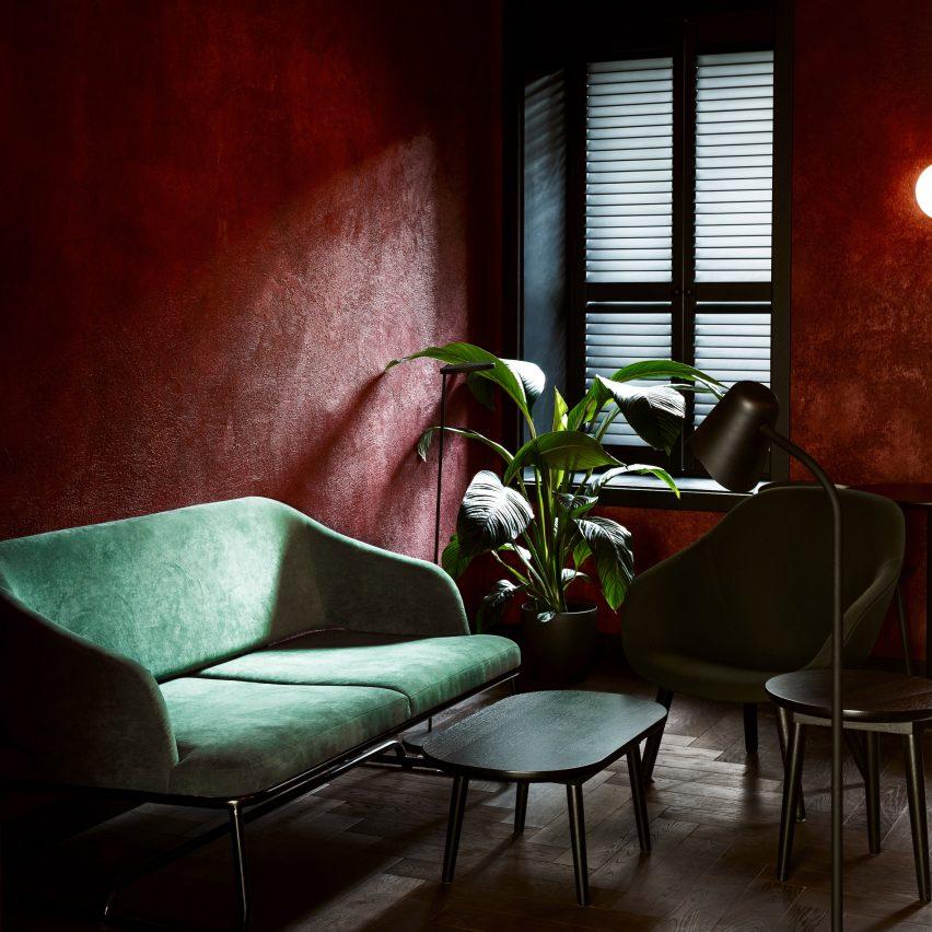 Sivak & Partners create cosy corners inside Odessa's Daily cafe