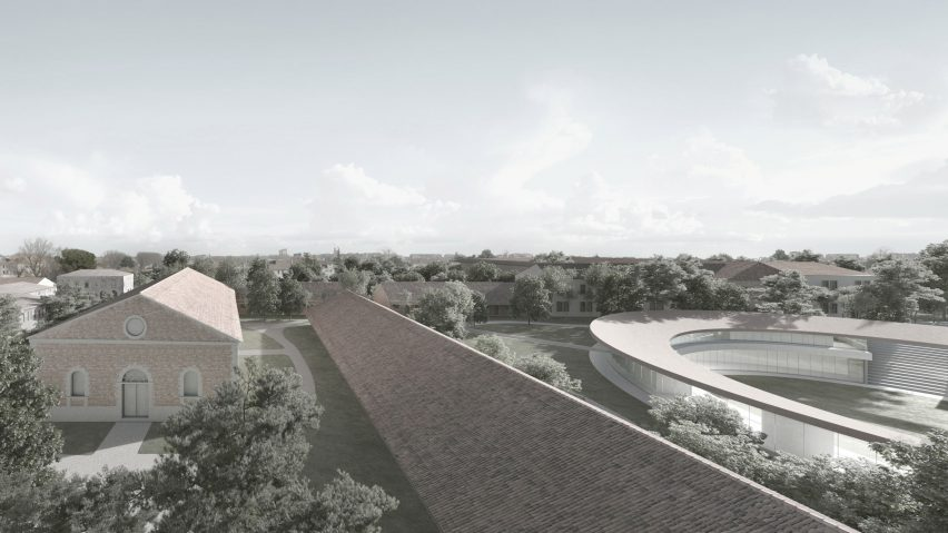 PiaveFutura campus for University of Padua by David Chipperfield Architects