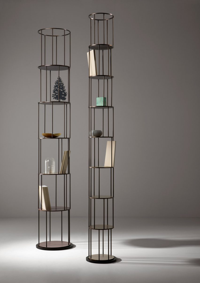 Babele bookcases by Martinelli Venezia Studio for De Castelli