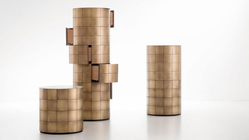 De Castelli unveils new furniture that shows how metal can have colour and texture
