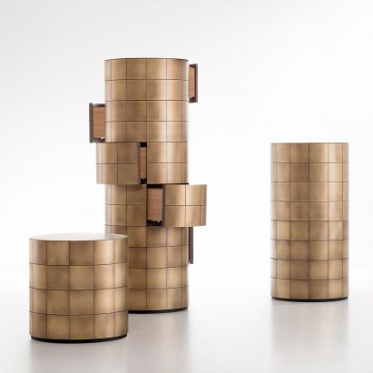 Pandora drawer unit by Martinelli Venezia Studio for De Castelli