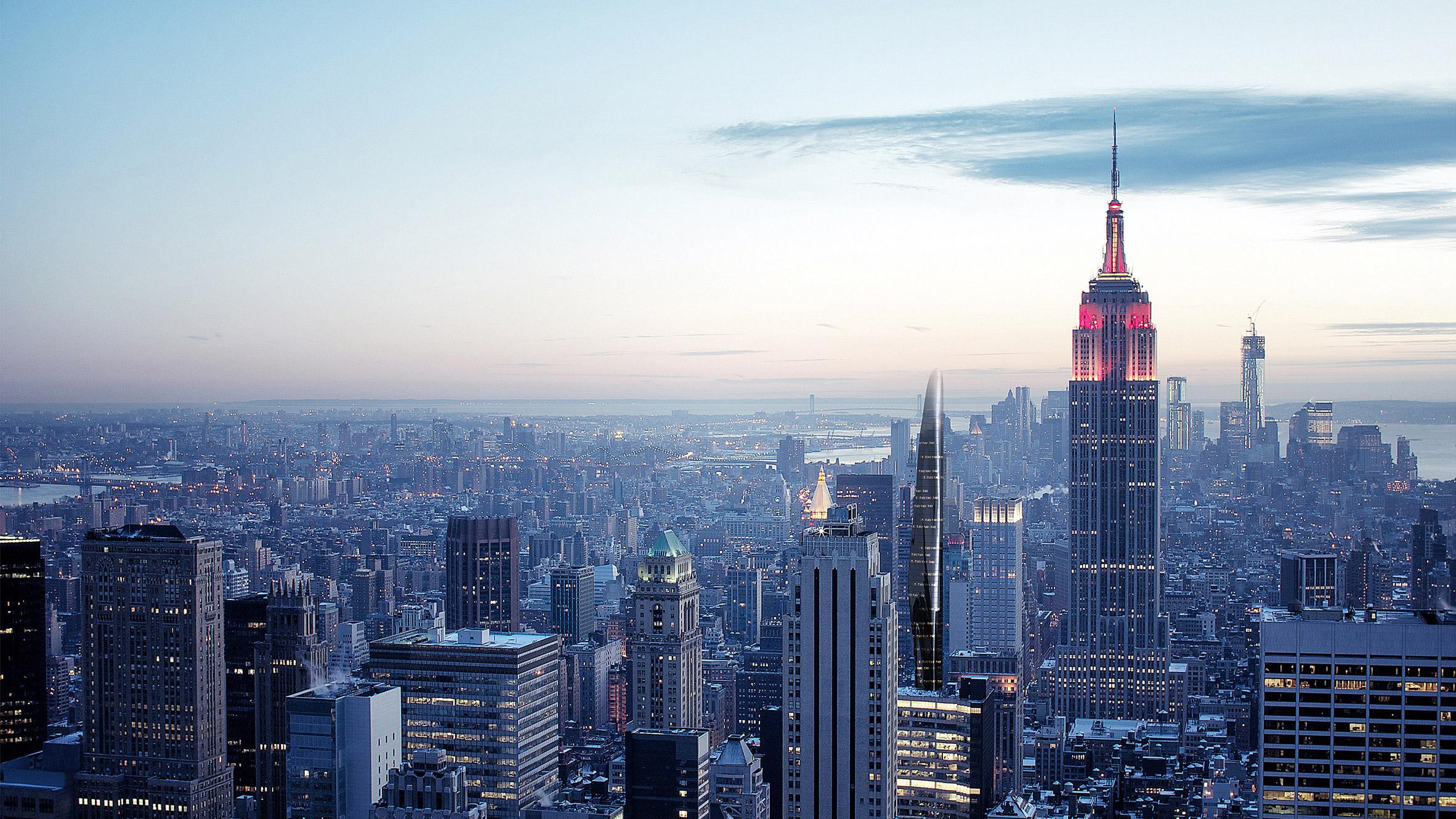 Концепция MAD для Нью Йорка