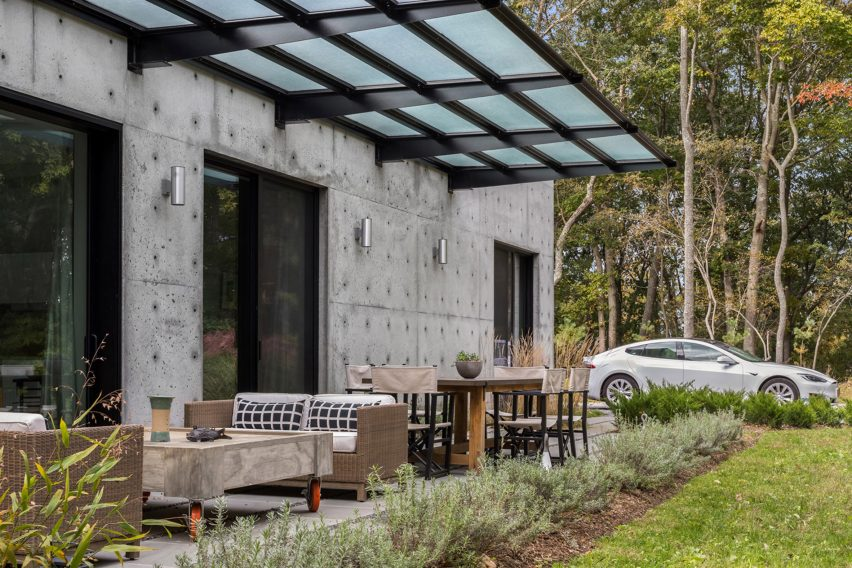 Eco House in Shelter Island by Vibeke Lichten Architects