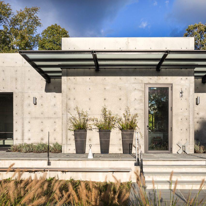 Vibeke Lichten Designs Her Own Concrete Eco House For