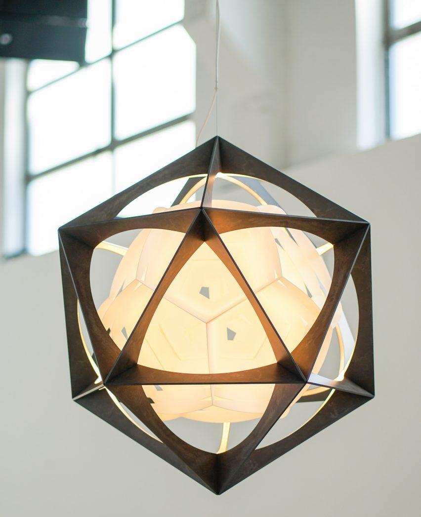 OE Quasi Light by Olafur Eliasson for Louis Poulsen
