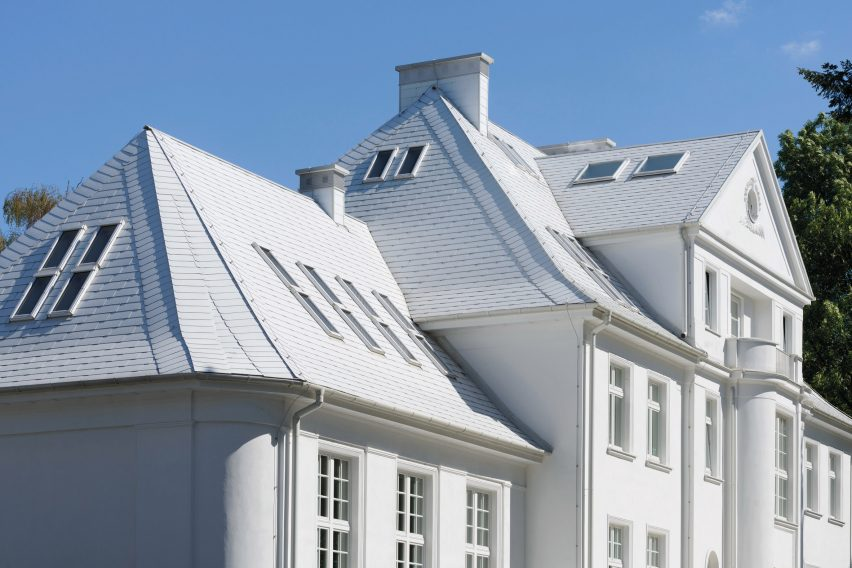 Fakro windows used in Neumann's Villa in Poland