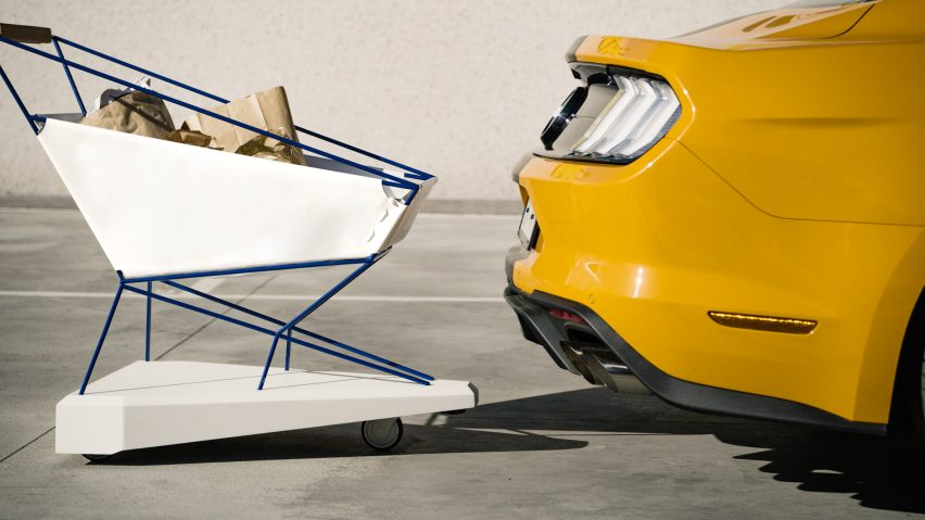 Ford makes self-braking shopping trolley that can't hit anything