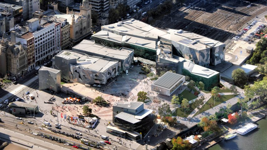 Foster + Partners re-designed Federation Square Apple Store cancelled