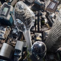A render of the Tulip by Foster + Partners has been approved by the City of London planning committee