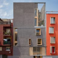 Wood and bright colours define Spanish youth centre by B720 Fermín Vázquez Arquitectos