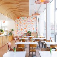 Commoncraft designs whimsical Gertie cafe in Williamsburg