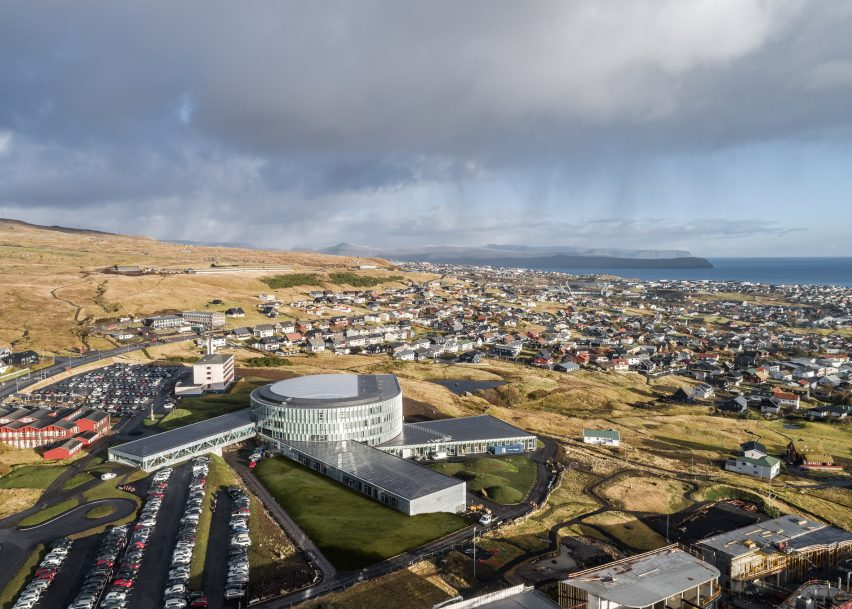 Glasir by BIG in Tórshavn, Faroe Islands