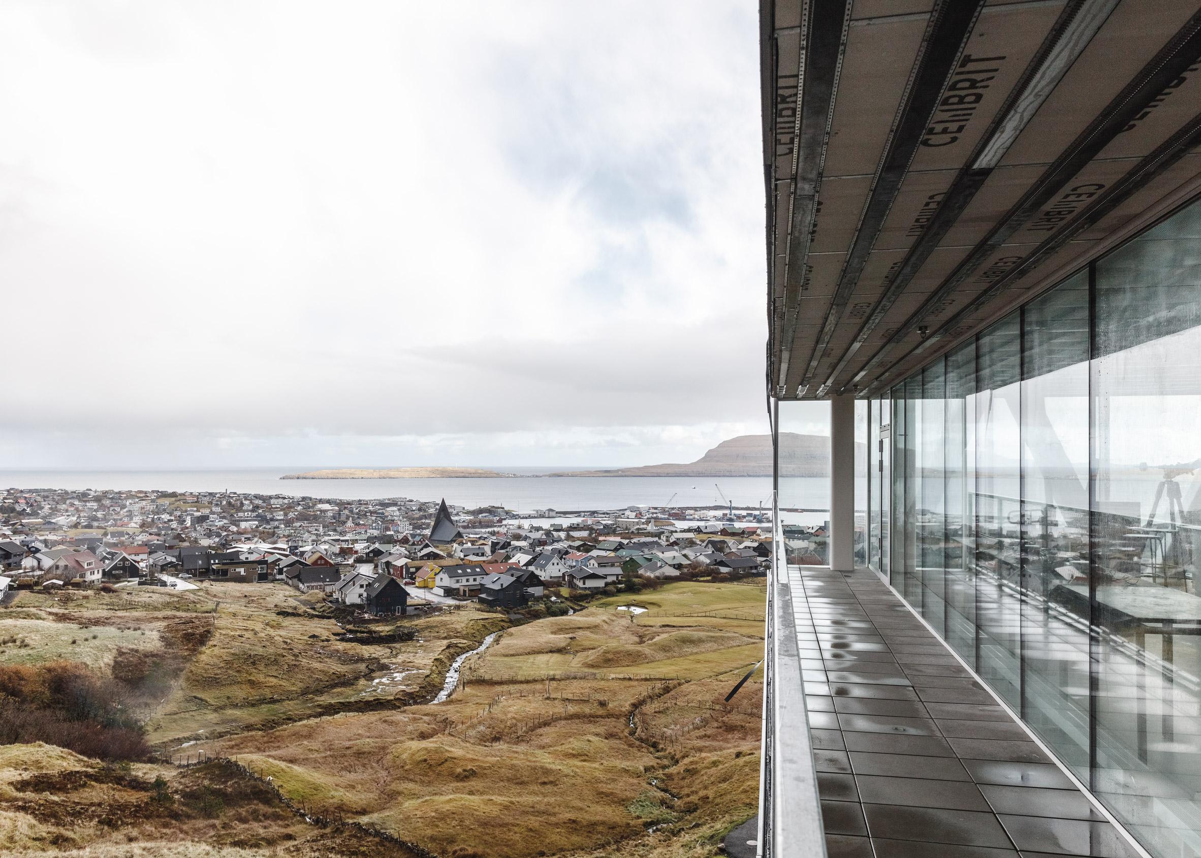 Glasir by BIG in Tórshavn, Faroe Islands
