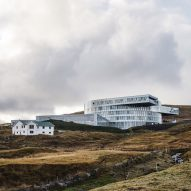 BIG completes vortex-shaped Glasir education centre in Faroe Islands' capital