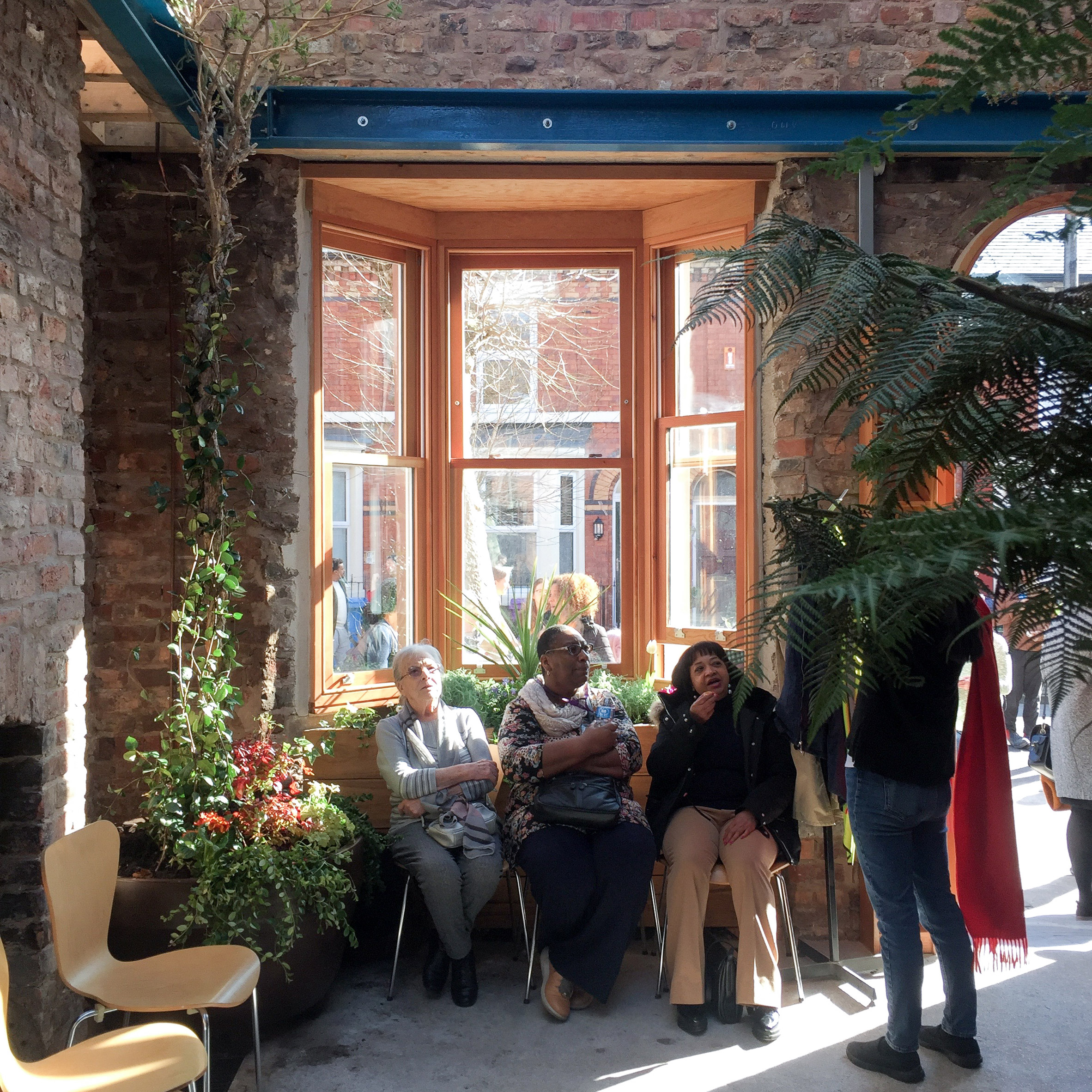 Assemble transforms derelict houses into Granby Winter Garden in
