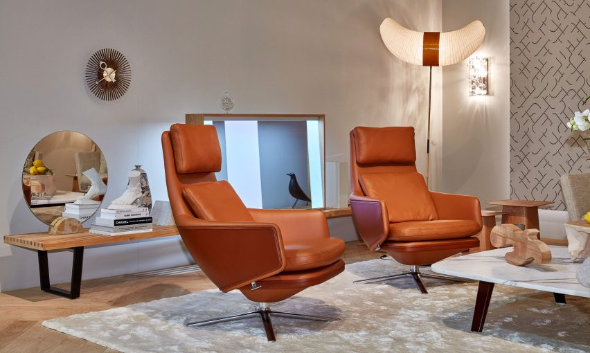 Vitra unveiled the Grand Relax during Milan design week