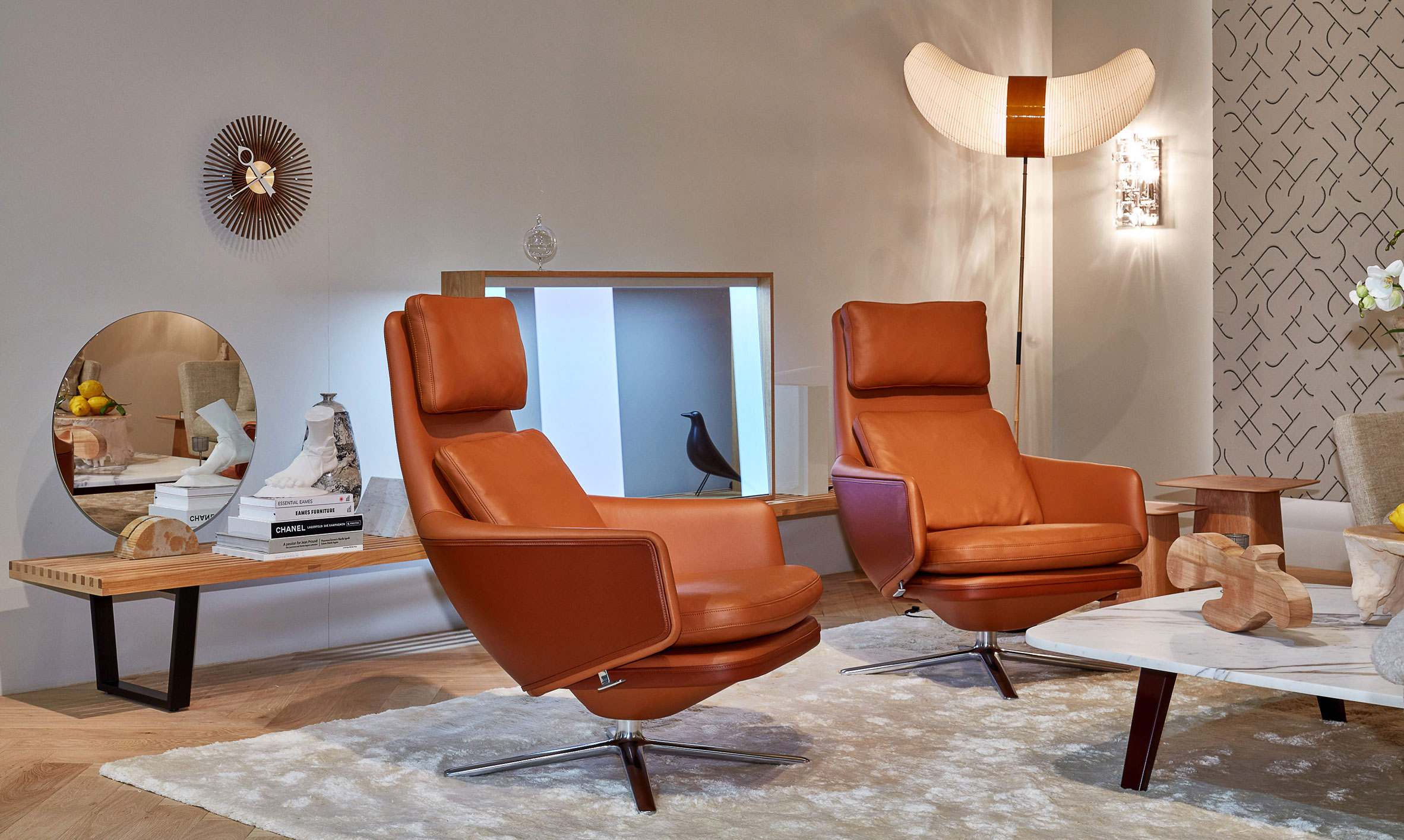 Vitra Collaborates With Antonio Citterio On Grand Relax Chair