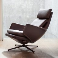 Vitra collaborates with Antonio Citterio on Grand Relax lounge chair