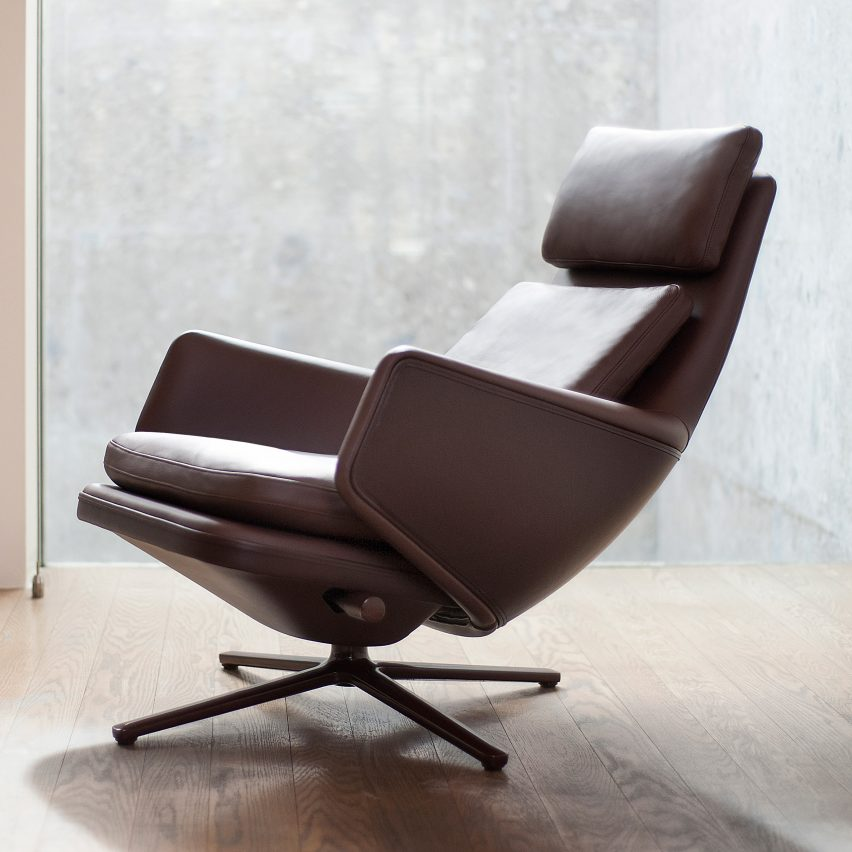 Pleasant Vitra Collaborates With Antonio Citterio On Grand Relax Chair Inzonedesignstudio Interior Chair Design Inzonedesignstudiocom