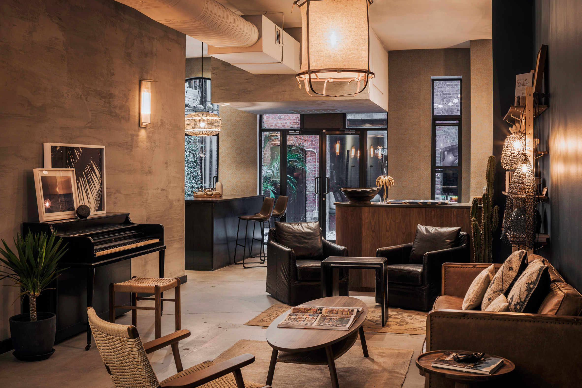 Habitas New York City members clubhouse by Style Mood
