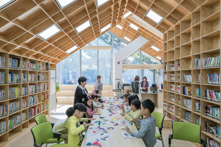 Hannae Forest of Wisdom by Unsangdong Architects Coorperation