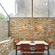 Rise Design Studio brightens Harvist Road flat with glass-walled lightwell