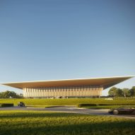 Foster + Partners designs tech-filled library for Sharjah