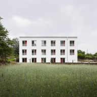 """Fala Atelier strips back former factory to create """"naked"""" apartments"""