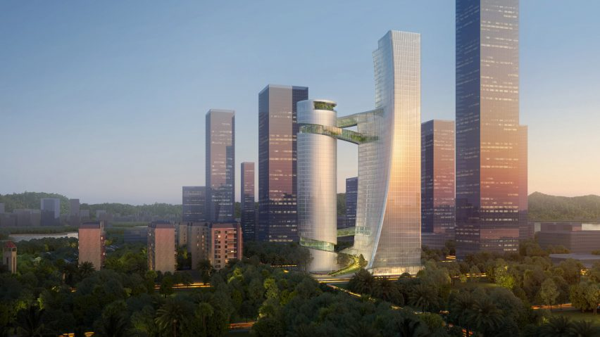 iCarbonX Headquarters in Shenzhen, China, by Steven Holl