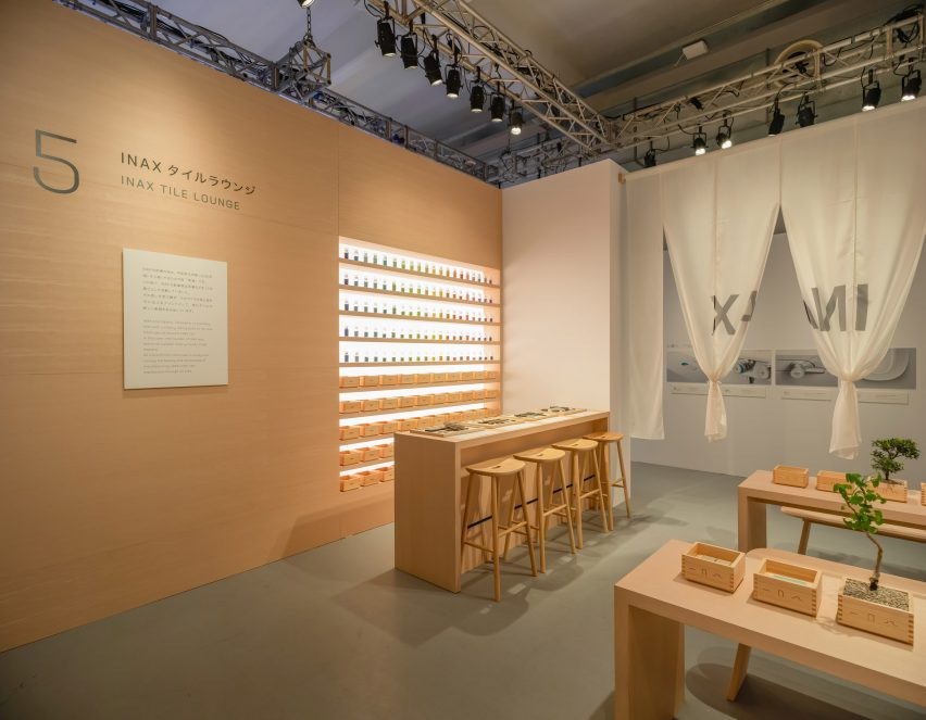 Japanese bathrooms brand INAX created an exhibition named Rituals of Water during Milan design week.