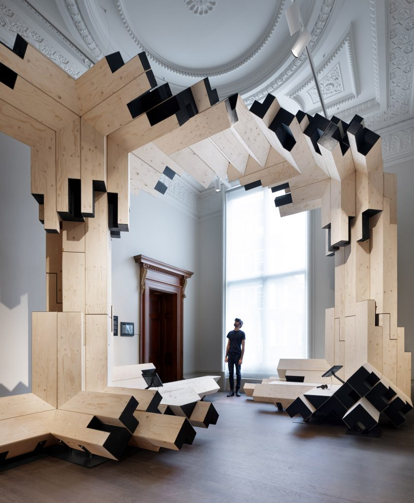 Invisible Landscapes virtual reality installations at the Royal Academy of Arts