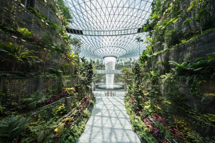 WAF World Building of the Year: Jewel Changi Airport building by Safdie Architects